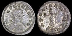 Ancient Coins - Probus Antoninianus - PROVIDENT AVG - Ticinum Mint