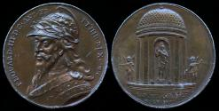 """World Coins - 1731 Great Britain – King EDWARD III By Jean Dassier (From his series """"Kings and Queens of England"""")"""