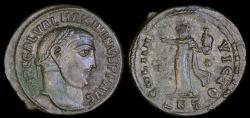 Ancient Coins - Maximianus Ae Follis - SOLI INVICTO - Antioch Mint
