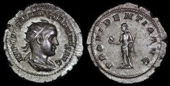 Ancient Coins - Gordian III Ar Antoninianus - PROVIDENTIA AVG - Rome Mint