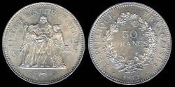 World Coins - 1979 France 50 France UNC