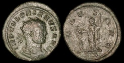Ancient Coins - Florian Antoninianus - SALVS AVG - Rome Mint