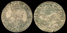 World Coins - 1662 GBA Poland 6 Groschen VF