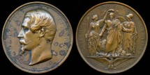 World Coins - 1852 France - Napoleon III Accession to the Throne