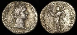 Ancient Coins - Domitian Silver Denarius - IMP XIIII COS XIIII CENS P P P - Rome Mint