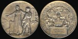 World Coins - 1910 Sweden – Nature – Agricultural medal