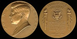 Us Coins - 1961 John Fitzgerald Kennedy - US Mint Medal