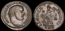 Ancient Coins - Maximinus II Follis - GENIO EXERCITVS - Antioch Mint