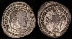 Ancient Coins - Maximianus Follis - SALVIS AVGG ET CAESS FEL KART - Carthage Mint