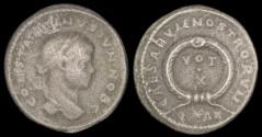 Ancient Coins - Constantine II Ae 3 - CAESARVM NOSTRORVM -