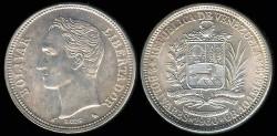 World Coins - 1960(a) Venezuela 2 Bolivares BU