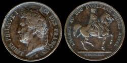 World Coins - 1842 France – L'Armée au Duc d'Orleans Prince Royal