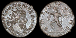 Ancient Coins - Postumus Antoninianus - ORIENS AVG - Cologne Mint