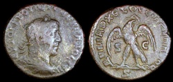 Ancient Coins - Philip I Tetradrachm - Eagle Standing - Antioch Mint