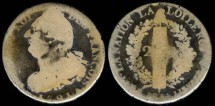 World Coins - 1791 A France 2 Sols VG