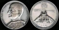 World Coins - 1964 Italy: Pope Paul VI - International Eucharistic Congress