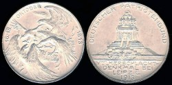 World Coins - 1913 Saxony – Inauguration of the People's Monument for the Battle Leipzig