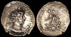 Ancient Coins - Gallienus Antoninianus - VICT GERMANICA - Cologne Mint