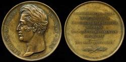 World Coins - 1826 France – Consecration of Louis XVI Original Burial Site