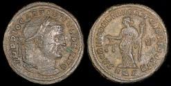 Ancient Coins - Diocletian Follis - SACRA MONET AVGG ET CAESS NOSTR - Aquileia Mint