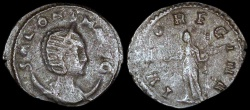 Ancient Coins - Salonina Antoninianus - IVNO REGINA - Rome Mint