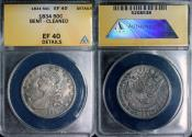 Us Coins - 1834 Bust Half Dollar - ANACS EF40