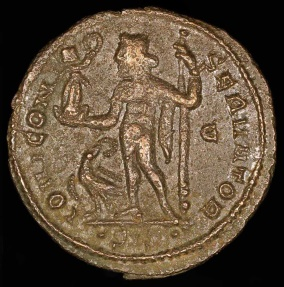 Ancient Coins - Licinius I Follis - IOVI CONSERVATOR - Siscia Mint