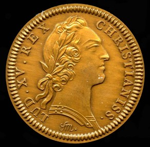 World Coins - 1755 French American Colonial Jetón