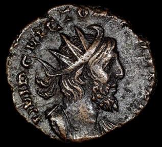 Ancient Coins - Victorinus Antoninianus - PROVIDENTIA AVG - Mainz or Trier Mint