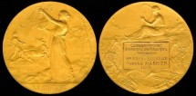 World Coins - 1913 France – Music Award Medal