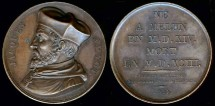 World Coins - 1819 France - Jacques Amyot by Alexis Joseph Depaulis
