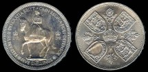 World Coins - 1953 Great Britain 1 Crown BU