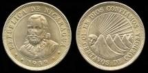 World Coins - 1939 Nicaragua 10 Centavos BU