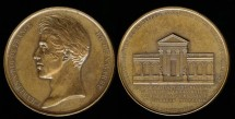 World Coins - 1829 France – Groundbreaking for the House of Parliament