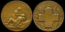 World Coins - 1915  France - Tending The Wounded by Joe Descomps