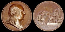 World Coins - 1814 France - Louis XVIII - The Constitutional Charter by Jean-Bertrand Andrieu