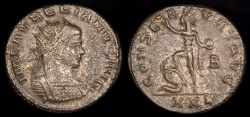 Ancient Coins - Aurelian Antoninianus - CONSERVAT AVG - Antioch Mint