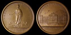 World Coins - 1806 France - Napoleon - Hospital of the Poor in Genoa by Gerolamo Vassallo