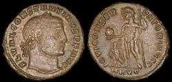 Ancient Coins - Constantine I Follis - IOVI CONSERVATORI AVGG - Cyzicus Mint
