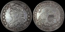 Us Coins - 1809 USA Bust Half Dollar (Overton 106)