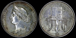 World Coins - 1830 France - Jeton - Justice; Importance for the Public Good by Nicolas-Pierre Tiolier