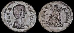 Ancient Coins - Julia Domna Denarius - MATER DEVM - Rome Mint
