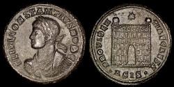 Ancient Coins - Constantius II Ae3 - PROVIDENTIAE CAESS - Siscia Mint