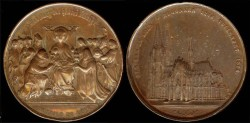 World Coins - 1880 Germany - Shrine of the Three Kings at Cologne Cathedral