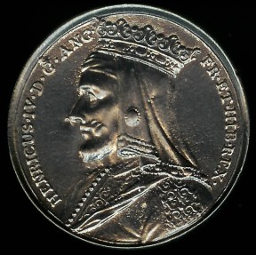 "World Coins - 1731 Great Britain – King HENRY IV By Jean Dassier (From his series ""Kings and Queens of England"")"