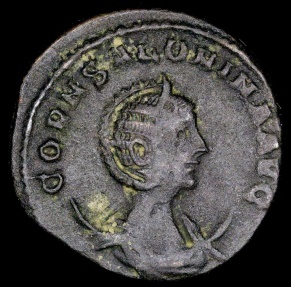 Ancient Coins - Salonina Antoninianus - CONCORDIA AVGG - Uncertain Syrian Mint