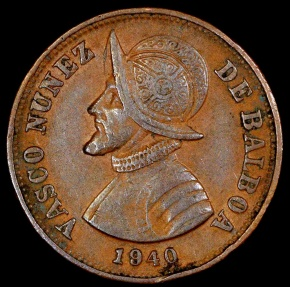 World Coins - 1940 Panama 1-1/4 Centesimos -