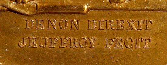 World Coins - 1803 France - Napoleon - The Treaty of Amiens Broken by England - Hannover Occupied by Romain-Vincent Jeuffroy and Dominique-Vivant Denon