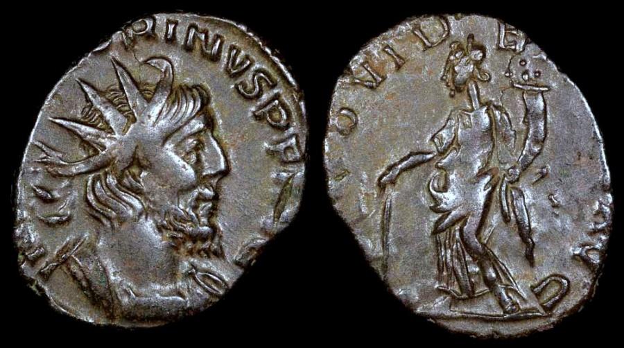 Ancient Coins - Victorinus Antoninianus - PROVIDENTIA AVG - Southern Mint
