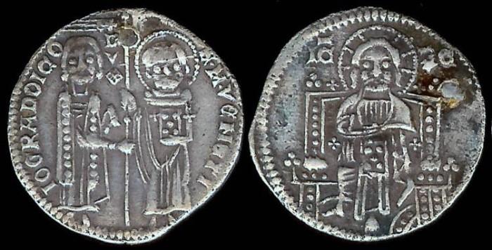 World Coins - 1339-1342 AD - Venice (Italian State) Grosso - Doge Bartolomeo Gradenigo